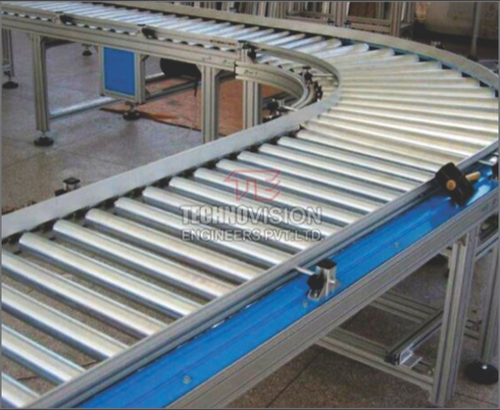 Gravity Roller Conveyor - Roller Conveyor Manufacturer from Pune