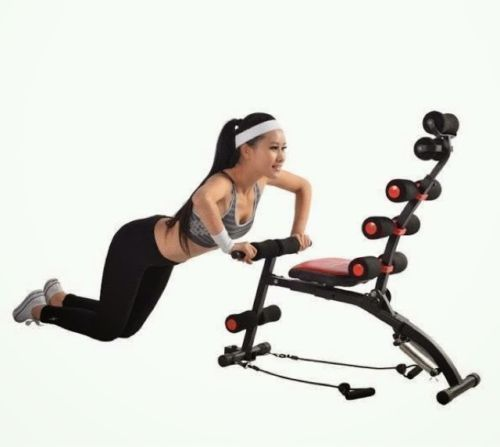 Situp benches abrocket twister home gym model number six pack