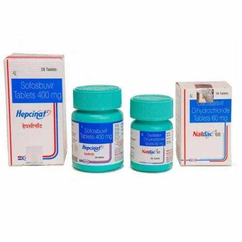 Sofosbuvir 400mg  Daclastavir 60 mg Tablets