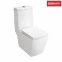 Ceramic Floor Mounted Somany Vida - One Piece Toilet