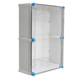 Gray & Transparent Tribox Enclosures
