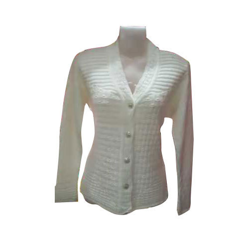 18b14f543b9bf Ladies White Sweater at Rs 490 /piece | Ladies Wool Sweater | ID ...