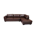 Designer Brown L Shape Sofa