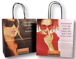 Multi Color Printed Paper Bag