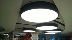 White Av Style Stretch Ceiling