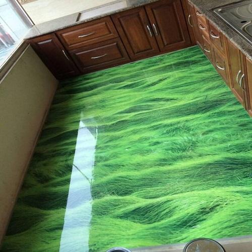 Kitchen 3D Epoxy Flooring