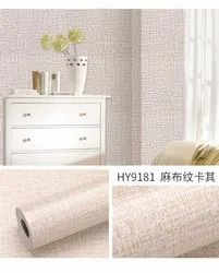 Flower Pot Vinyl Wall Paper Self Adhesive for Office, Size: 45 x 500 cm