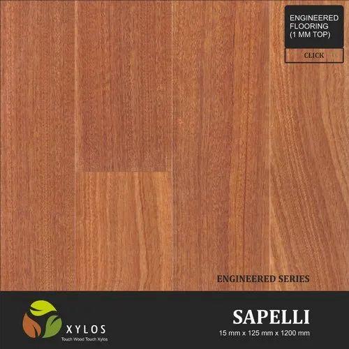 Sapele Engineered Wooden Flooring