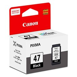 Black Canon PG-47 Ink Cartridge, Packaging Type: Box, Model Name/Number: Pg 47
