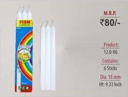 Plain Candles 12.0-06