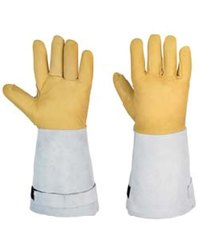 CE Leather(Buff/Split/Chrome) Cryogenic Gloves, Size: Large