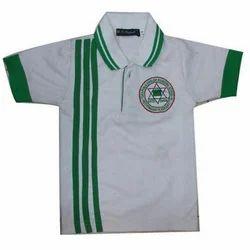 Cotton Kids Collar T-Shirt
