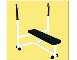 Flat Bench With Stand