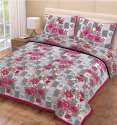 Floral Bedsheets for Double Bed Cotton