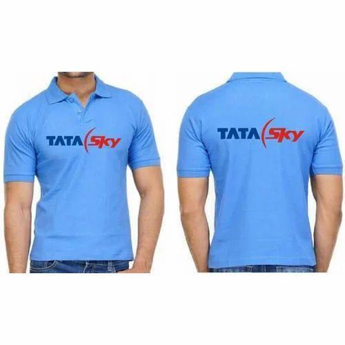 b2f6af37 Blue Lycra Collar Promotional T-Shirt, Rs 150 /piece, The Royal ...