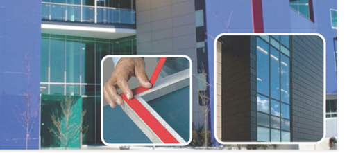 Architectural Metal Cladding Tape - Panamax Tapes