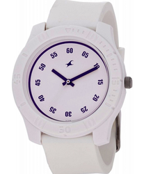 White Fastrack Watch - 3062pp21