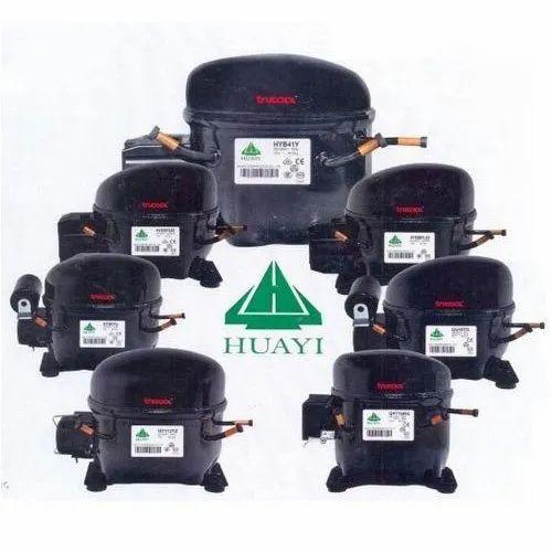 5 HP Reciprocating Huayi Compressor, National Engineers, India   ID