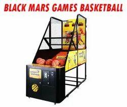 Black Iron Basketball Game Machine