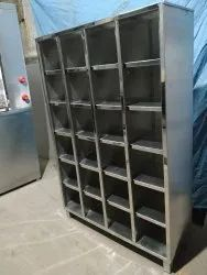 Stainless Steel Shoe Cabinet