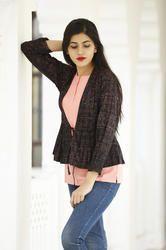 Reyon Short top with jacket