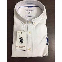 Slim Fit Casual Wear Branded Men Shirt
