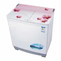 Unbranded Top Loading Semi Automatic Washing Machine 7.2 Kg, Red