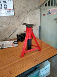Heavy Duty Axle Stand