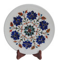 Home Decor Marble Inlay Plate