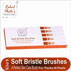 6 Pieces Rahul Phate''s Soft Bristle Brushes For Packs And Peels