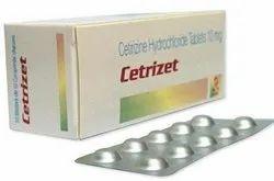 Cetrizine Hydrochloride Tablets