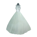 White S / M Ladies Long Wedding Gowns