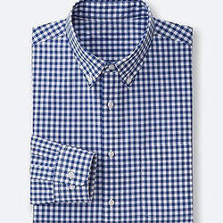 Striped Casual Wear Formal Cotton Shirt