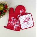 Printed Oven Mitts Pot Holders