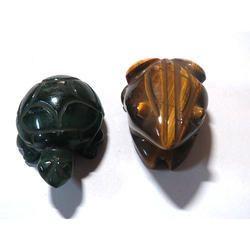 Assorted Gemstone Animals