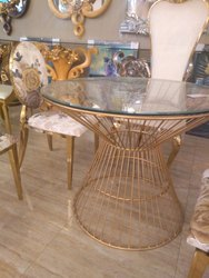 Designer Brass Coffee Table