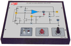 Op - Amp as Wein Bridge Oscillator