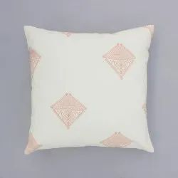 Hand Block Printed Boho Cushion Cover