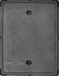 21X28 Inch Simtex FRP Rectangular Manhole Cover