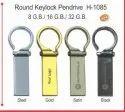 Round Keylock Pendrive