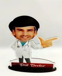 Sublimation Personalised Caricature For Gifting