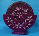 Soapstone Colorful Round Antique Carving Coaster Set
