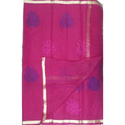Ladies Kota Light Weight Pink Saree