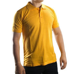 Mens Yellow Collar T-Shirt