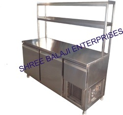 Sbe Stainless Steel Undercounter Refrigerator, For Commercial, Power Source: Electricity
