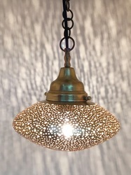 Brass UFO Lantern Small Lamp