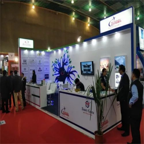 Display Stand For Exhibition : Backdrop exhibition display stand at rs square meter
