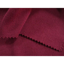 Maroon Interlock Knitting Fabric