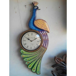 Wooden Indian Handmade Clock
