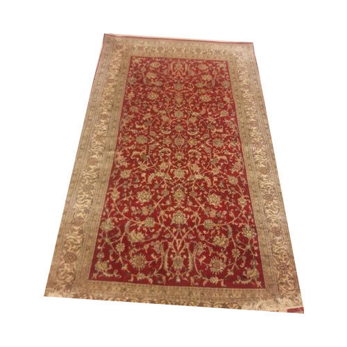 Multicolour Kashmiri Silk Floor Carpet